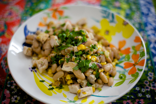White Bean Salad with Chicken