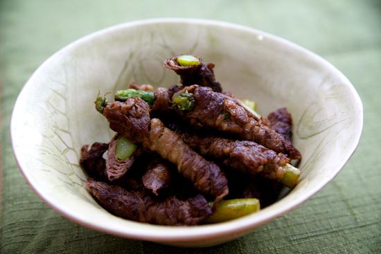 Asparagas Beef