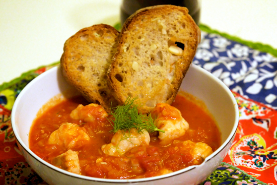 Monk Fish Cioppino